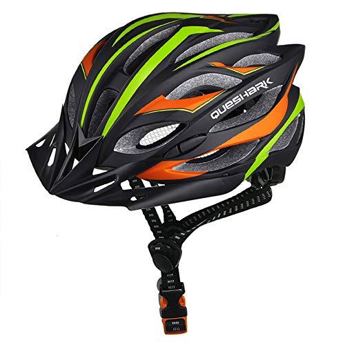 ZHXH Professionelle Ultra Radfahren Helmetroad Fahrradhelm Einstückig-Form...