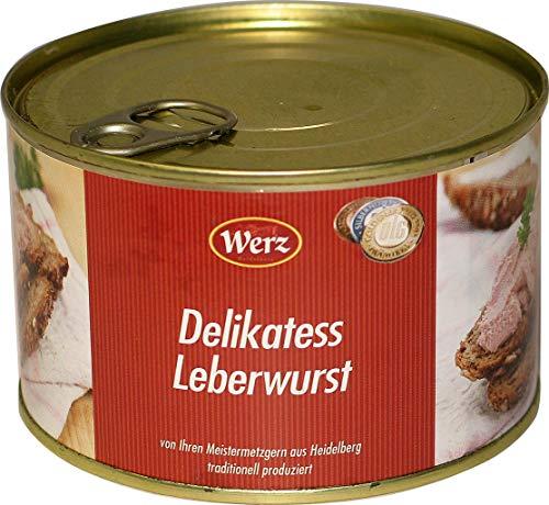 Hausmacher Dosenwurst Delikatess Leberwurst fein 400g MHD 11/19