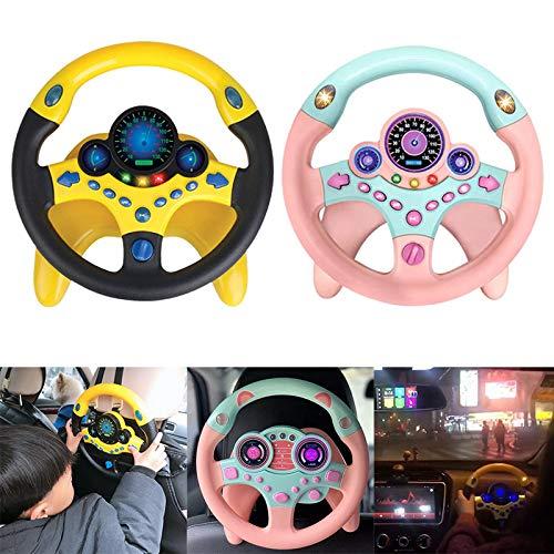 Teiera Simulation Volante con Luce Baby Kids Musical Entwicklung Giocattolo educativo Regalo di Compleanno, Rosa, A