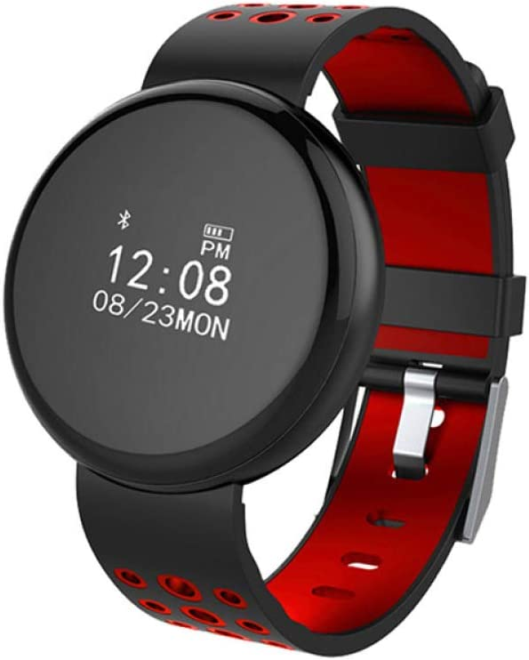North King Elegante Reloj Redondo Pantalla PresióN Dormir Seguimiento Fitness Tracker Pulsera Inteligente