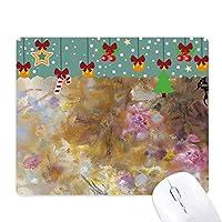 9月のロータスxjj油絵 ゲーム用スライドゴムのマウスパッドクリスマス