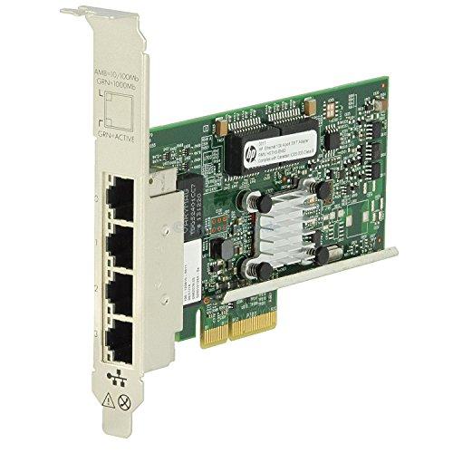 HP NC365T 4-PORT ETHERNET **Refurbished**, 593722-B21 (**Refurbished** Server Adapter)