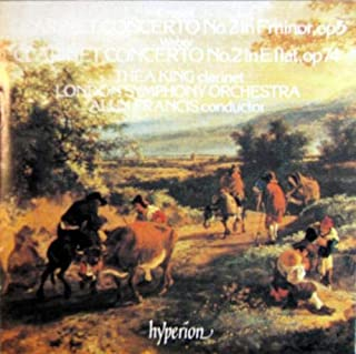 Crusell: Clarinet Concerto No. 2 in F Minor, Op. 5 / Weber: Clarinet Concerto No. 2 in E Flat, op. 74