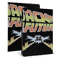 IPad ケース バックトゥザフューチャー BACK TO THE FUTURE 2 フリップカバー タブレット保護ケース 耐衝撃 ホルスター 保護シェル 自動ウェイクアップ/オートスリープ