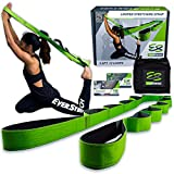 EverStretch Non-Elastic Stretching Strap with Loops - Move Freely with This Looped Stretch Strap Premium Stretch Band for Sports, Physical Therapy and Recovery from Knee Replacement Surgery.