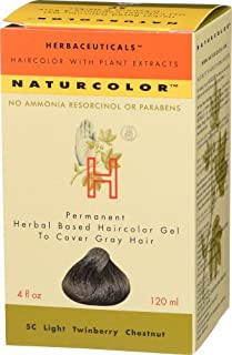 Naturcolor 5C Light Twinberry Chestnut Hair Dyes, 4 Ounce