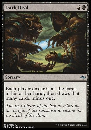 Magic The Gathering - Dark Deal (066/185) - Fate Reforged
