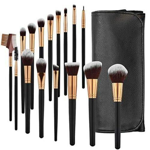 Makeup Brushes 16 Dedication Pcs Foundation Synthetic 40% OFF Cheap Sale Premium