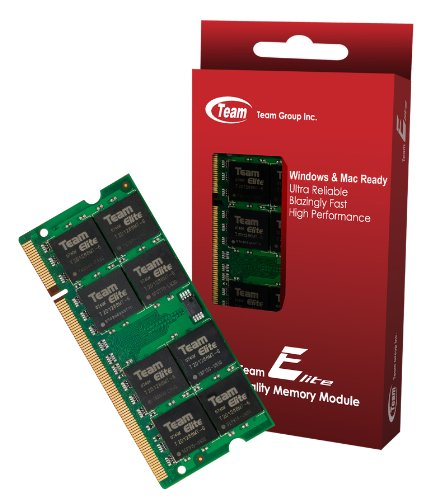 """1GB Team High Performance Memory RAM Upgrade Single Stick For Mac mini """"Core 2 Duo"""" 2.0 MB139LL/A Macmini 2,1 1. The Memory Kit comes with Life Time Warranty."""