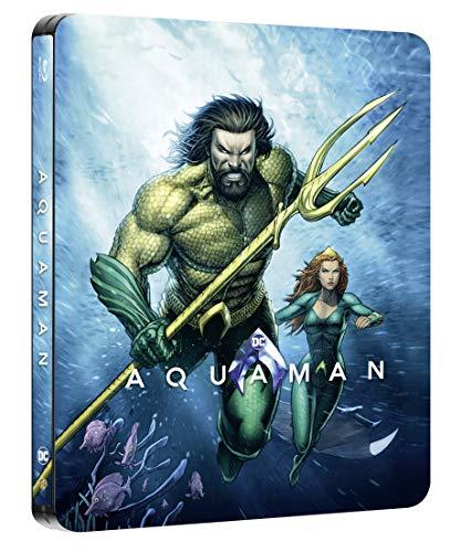 Aquaman Steelbook Illustrated Artwork (Blu-ray 2D)