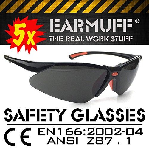 5 x SET * Stinger* Sport occhiali protettivi, sicurezza occhiali, occhiali di ripresa, lavoro protezione occhiali, biker occhiali, occhiali da sole a norma DIN EN-166