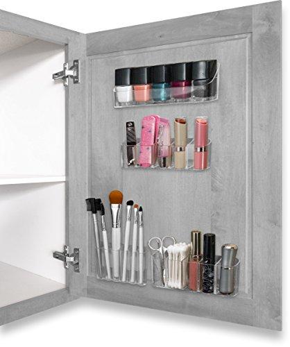 Sunneday – Kit Organizador de cosméticos, Kit Organizador de Maquillaje, Transparente, 1