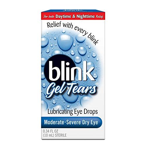 AMO Blink Gel Tears Lubricating Eye Drops-0.34 oz (Quantity of 2)
