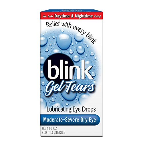 AMO Blink Gel Tears Lubricating Eye Drops-0.34 oz (Quantity of 2)