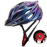 Deeabo Bicycle Helmet, Safety Adjustable Mountain Road Cycle Helmet Light Bike Helmet, CE Certified...