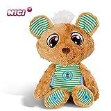 NICI Schlafmützen Schlummergeschichten-Bär Schlummsi in grünem Pyjama – Kuscheltier Teddybär