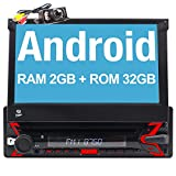 "FOIIOE Android 10 [2GB+32GB] Autoradio 1 DIN Radio para Coche soporta GPS Navegador, DVD,Bluetooth, Subwoofer, Mirror-Link, Control Volante, WiFi, USB, SD, con 7"" Pantalla Táctil"