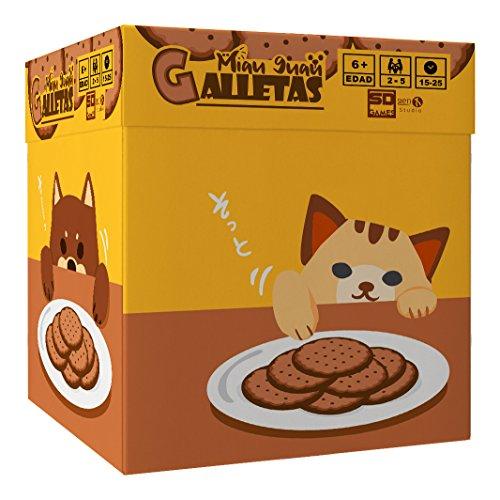 Miau guau galletas