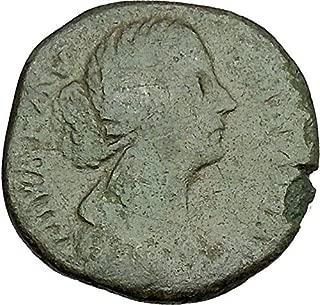 1000 IT FAUSTINA II Marcus Aurelius Wife Big Sestertius R coin Good