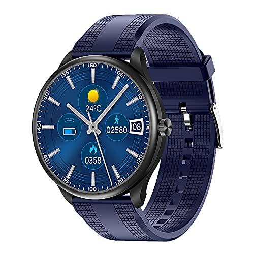 ZGZYL M10 Smart Watch Bluetooth Llamada A MP3 Reproductor De MP3 Respiración Blood Oxígeno Temperatura Presión Arterial ECG Monitoreo De Ritmo Cardíaco Podómetro Reloj Deportivo,D