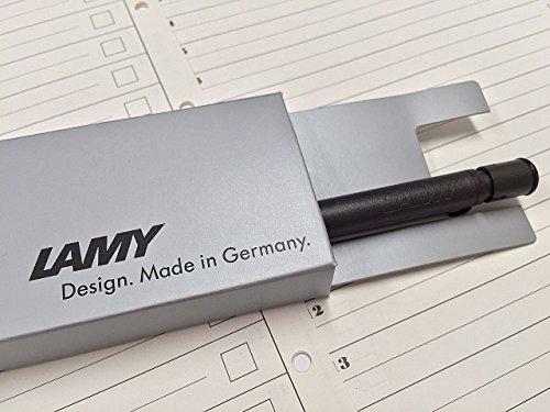 LAMYラミーシャープペンシルサファリブラックL1170.5mm正規輸入品