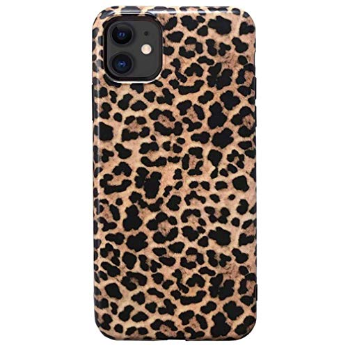 YTanazing iPhone 11 Leopard Case, Classic Luxury Fashion Leopard Design Soft Rubber Gel Back Cover for Apple iPhone 11 6.1 inch