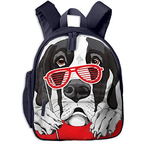 Kinderrucksack Kleinkind Jungen Mädchen Kindergartentasche Animal Dane Dog Grill Backpack Schultasche Rucksack