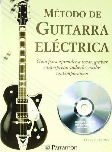 METODO DE GUITARRA ELECTRICA 1CD (Spanish Edition) by Terry Burrows(2010-01-06)
