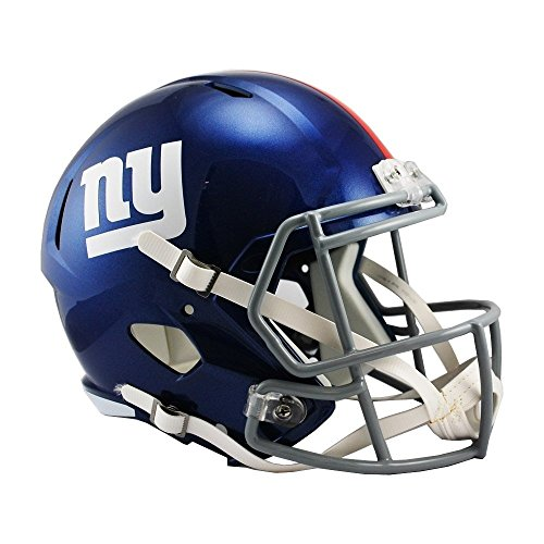 Riddell NFL New York Giants Full Size Speed Replica Football Helmet
