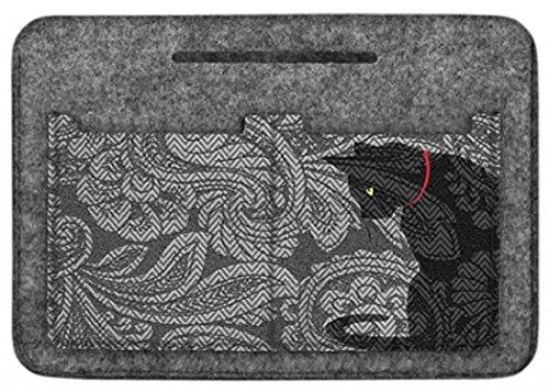 Taschenorganizer Handtaschenordner Tasche Organizer Filz Grau Cat-K