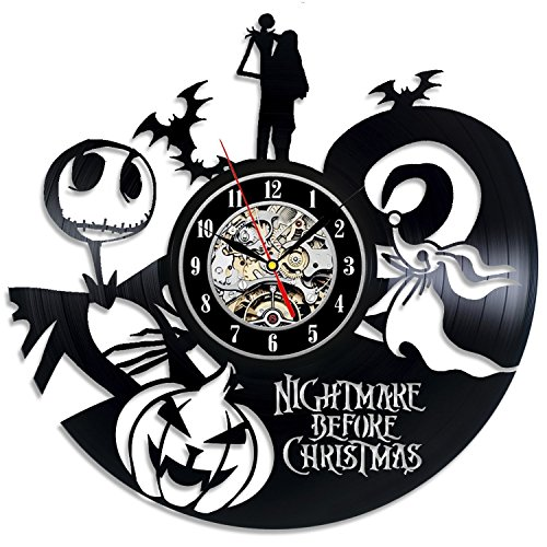 Nightmare Before Christmas Vinyl Clock beste Geschenkidee