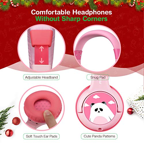 Mpow CH1 Kids Headphones w/85dB Volume Limited Hearing Protection