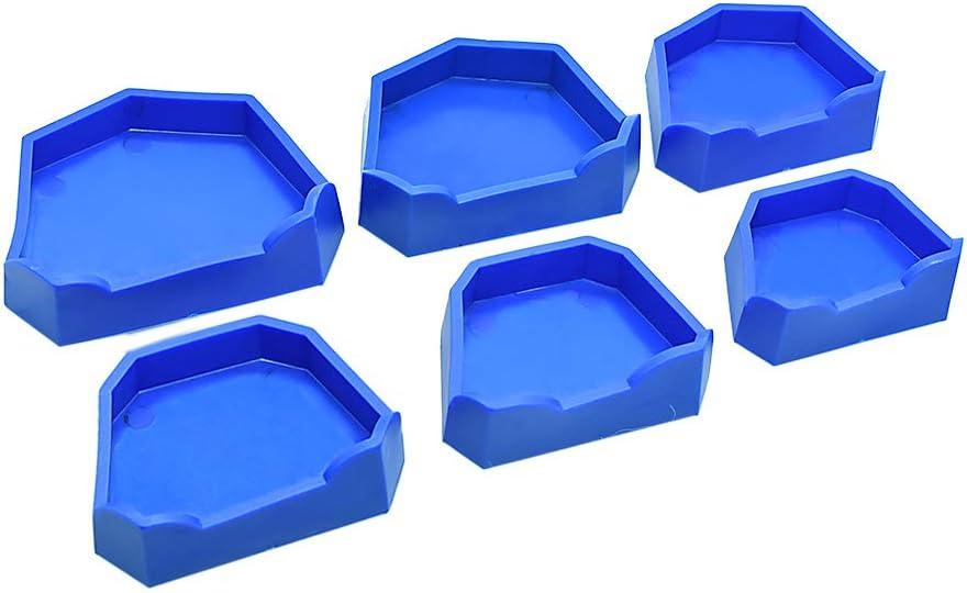 Popular products Oral Dentistry Dental Lab Model Former Blue Base 6 Color Molds Reservation