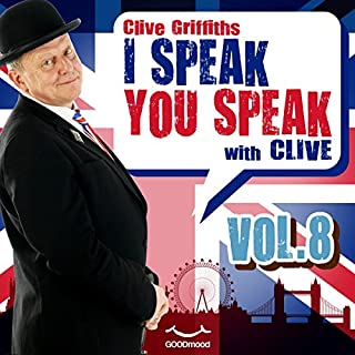 I speak you speak with Clive Vol. 8 copertina