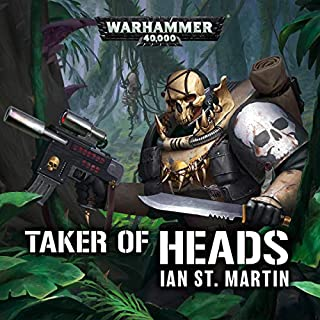 Taker of Heads audiobook cover art