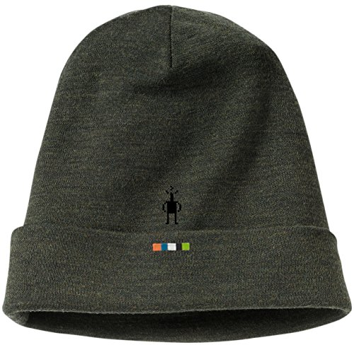 Smartwool Merino Sport 250 Beanie - Cuffed Wool Hat Men's Olive Heather IFM