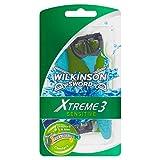 10x Wilkinson Sword Xtreme 3sensible 4cuchillas de afeitar