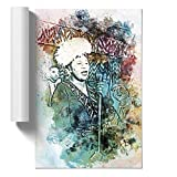 BIG Box Art Ella Fitzgerald in abstraktem Poster Wandkunst