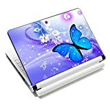Laptop Skin Sticker Decal,12' 13' 13.3' 14' 15' 15.4' 15.6 inch Laptop Skin Sticker Cover Art Decal Protector Notebook PC (Butterfly)