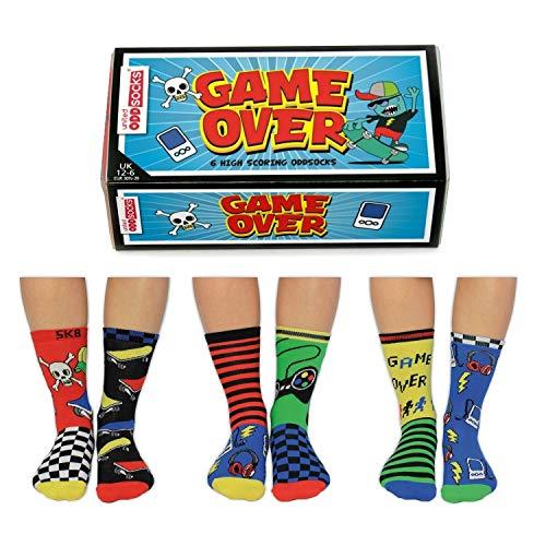 Game Over Oddsocks Socken in 30,5-39 im 6er Set - Strumpf