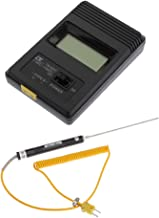 Almencla Termómetro Digital de Mano Tipo K 2000 Mm
