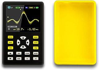 Digitaloszilloskop, Professionelles, rutschfestes, tragbares IPS Oszilloskop Multimeter mit LCD Bildschirm, 2,4 Zoll 100 MHz Bandbreite, 500 MS/s Abtastrate
