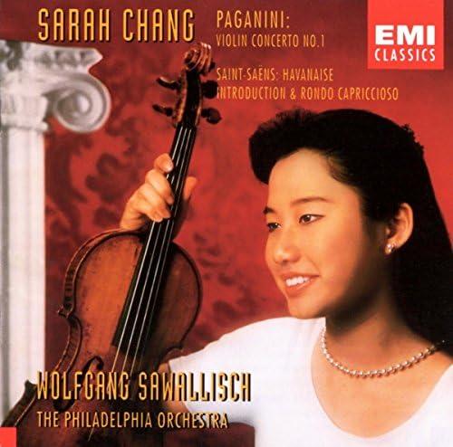 Sarah Chang, The Philadelphia Orchestra & Wolfgang Sawallisch
