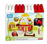 Mega Bloks - Set de juego, Amigos de la granja (Mattel DPJ57)