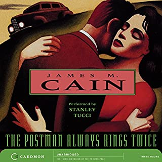 The Postman Always Rings Twice audiobook cover art