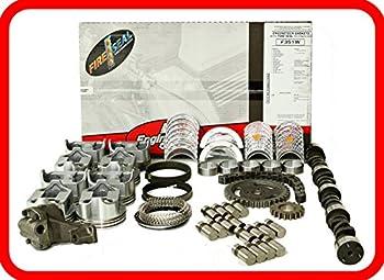 Master Engine Rebuild Kit FITS  67-85 Chevrolet SBC 350 5.7L V8 w/Stage-3 HP Cam & Flat-Top Pistons