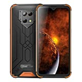Blackview BV9800 Pro (2020) Thermal Imager Outdoor Smartphone - 48 MP + 16 MP, 6 GB + 128 GB Helio P70, Android 9.0 IP68 Robust Mobile phone, 6580mAh battery, Qi charge, NFC Orange