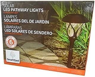 Smart Yard LED Pathway Solar Lights, Pack of 6