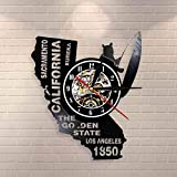 YDDLIE Eureka Golden State California State Capitol Reloj de