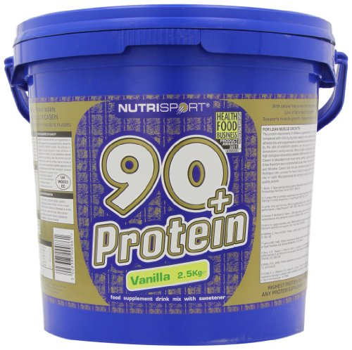 Nutrisport 90+ Protein Vanilla Powder 2.5kg
